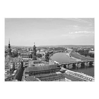 Foto Vista de Dresden do Frauenkirche