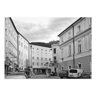 Foto Vista de Salzburg na manhã após o Natal