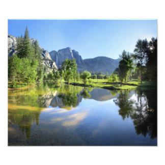 Foto Yosemite Falls do rio de Merced - vale de Yosemite