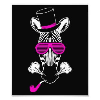 Foto Zebra do hipster