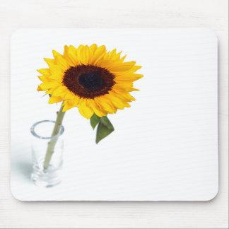 Fotografia brilhante ensolarada do girassol mousepad