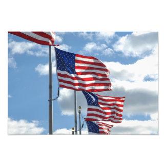 Fotografia da bandeira dos Estados Unidos