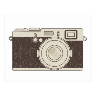 Fotografia da câmera do vintage cartão postal