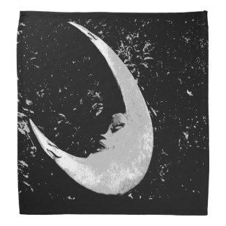 Fotografia da lua pano para cabeça