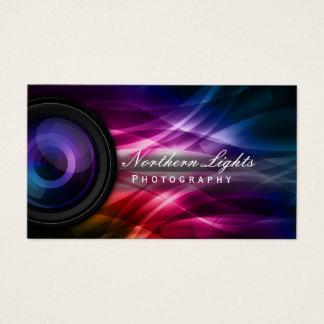 Fotografia da objectiva & da Aurora do fotógrafo Cartão De Visitas