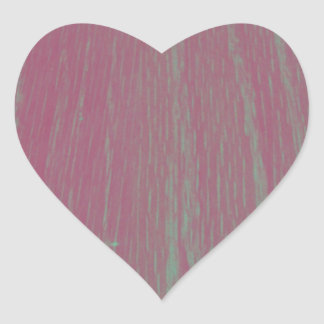 Fotografia de madeira da textura do filtro Funky Adesivo Coração