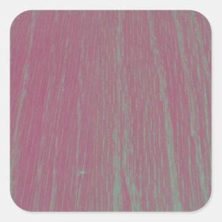 Fotografia de madeira da textura do filtro Funky Adesivo Quadrado