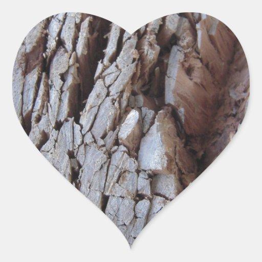 Fotografia de madeira desbastada da textura adesivos de corações