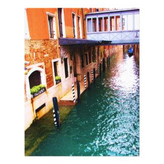 Fotografia de Veneza - imagem do canal Panfleto Coloridos