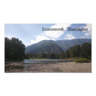 Fotografia do beira-rio de Leavenworth Washington