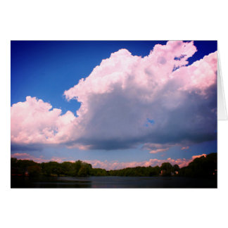 Fotografia do céu da nuvem dos cartões das belas