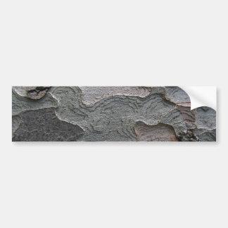 Fotografia do macro do latido de árvore adesivo para carro