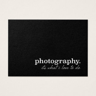 Fotografia é o que eu amo fazer!! Pérola Custum Cartão De Visitas