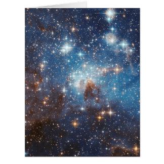 Fotografia estelar do espaço do berçário do LH 95 Cartão Comemorativo Grande