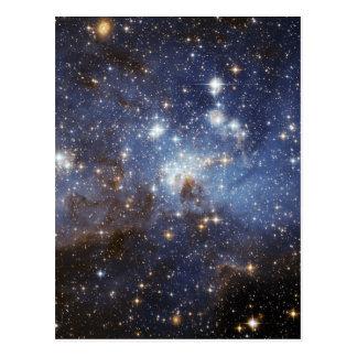 Fotografia estelar do espaço do berçário do LH 95 Cartão Postal