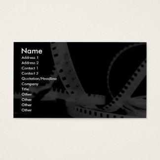 Fotografia, Flim, entretenimento Cartão De Visitas