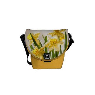 Fotografia floral:  Daffodils amarelos do Bolsas Mensageiro