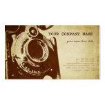Fotografia retro do vintage cartão de visita