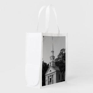 FOTOGRAFIA reusável do saco da IGREJA Sacolas Reusáveis
