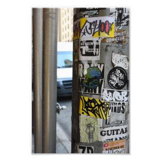 Fotografia urbana da arte da rua dos grafites da