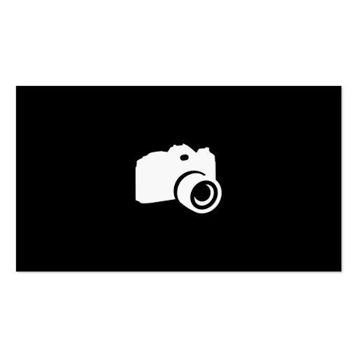 Fotógrafo Cartões De Visita