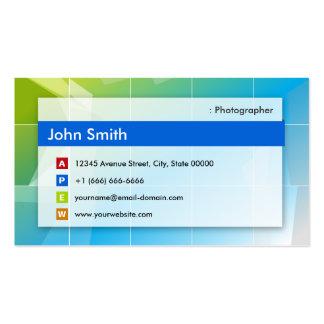 Fotógrafo - de múltiplos propósitos moderno modelos cartões de visitas