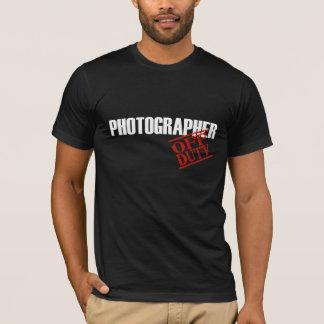 Fotógrafo FORA DE SERVIÇO Camiseta