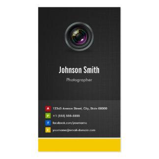 Fotógrafo - inovativo criativo superior cartões de visita