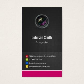 Fotógrafo - inovativo criativo superior cartão de visitas
