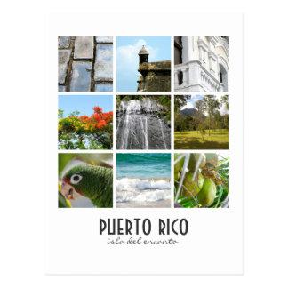 Fotos de Puerto Rico Cartão Postal