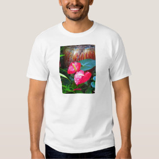 Fotos florais da flor dos jardins de Longwood T-shirt