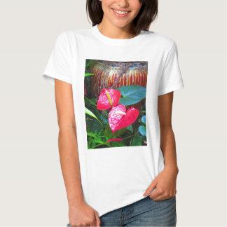 Fotos florais da flor dos jardins de Longwood Tshirts