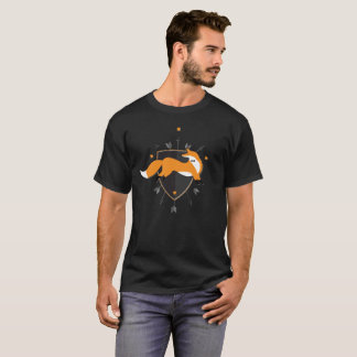 Fox 81 do hipster camiseta