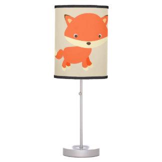 Fox bonito do bebê da lâmpada das crianças