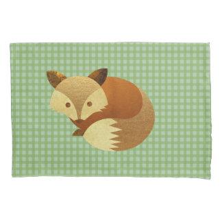 Fox bonito do outono
