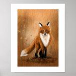 Fox da queda impressão