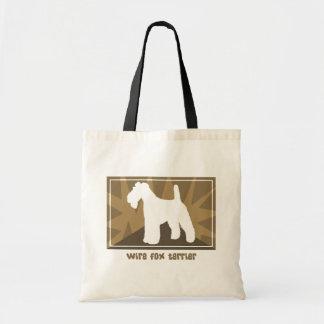 Fox da terra Terrier do fio Bolsa Tote