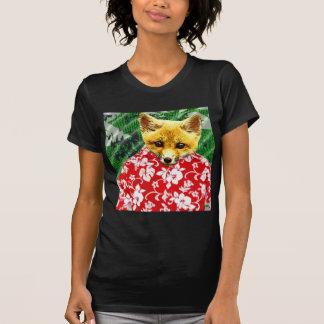Fox havaiano camisetas