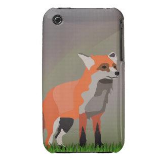 Fox no prado capa para iPhone 3