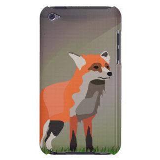 Fox no prado capa para iPod touch