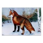 Fox vermelho cartao