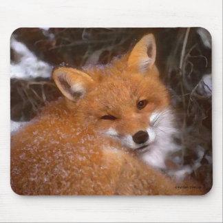 """Fox vermelho"" Mousepad"