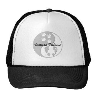 foxhound americano de yang do yin boné