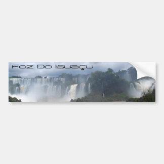 Foz do Iguaçu Adesivo Para Carro