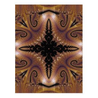 Fractal 124 do mosaico cartão postal