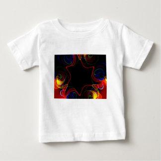 Fractal #2 do arco-íris camiseta para bebê