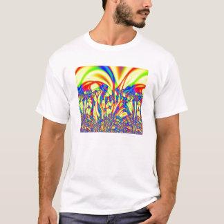 Fractal brilhante camiseta
