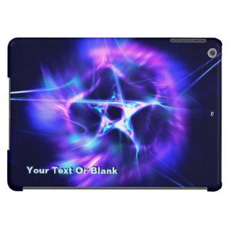 Fractal brilhante da estrela capa para iPad air