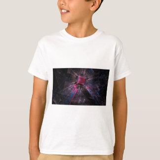 Fractal cor-de-rosa camiseta