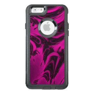 Fractal cor-de-rosa e preto